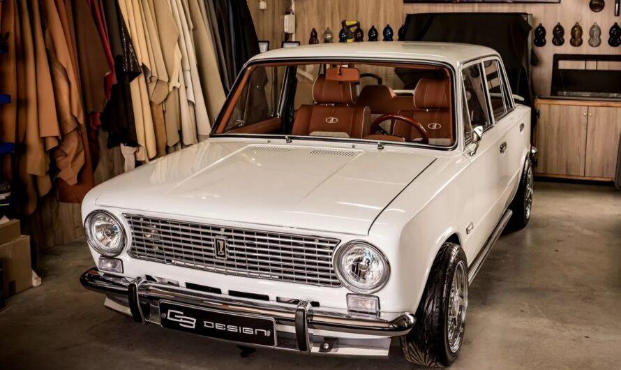 В Болгарии старую Копейку ВАЗ-2101 оснастили салоном уровня Роллс-Ройса