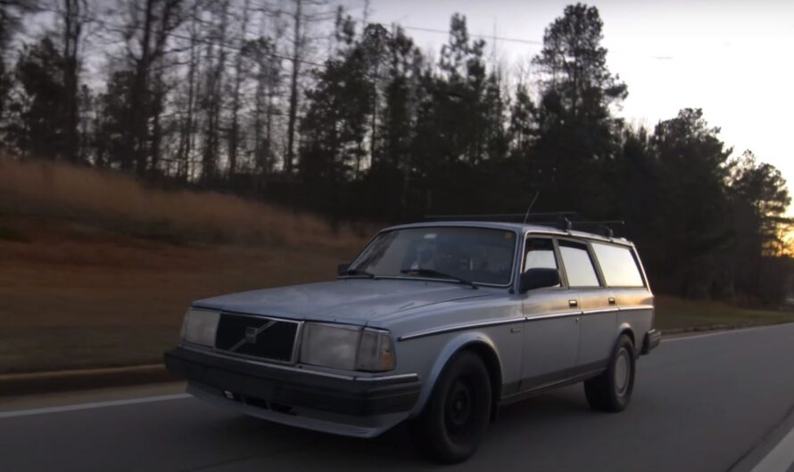 Старый универсал Volvo превратили в ураганный спорткар