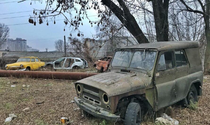 В Киеве обнаружили кладбище ретро-авто