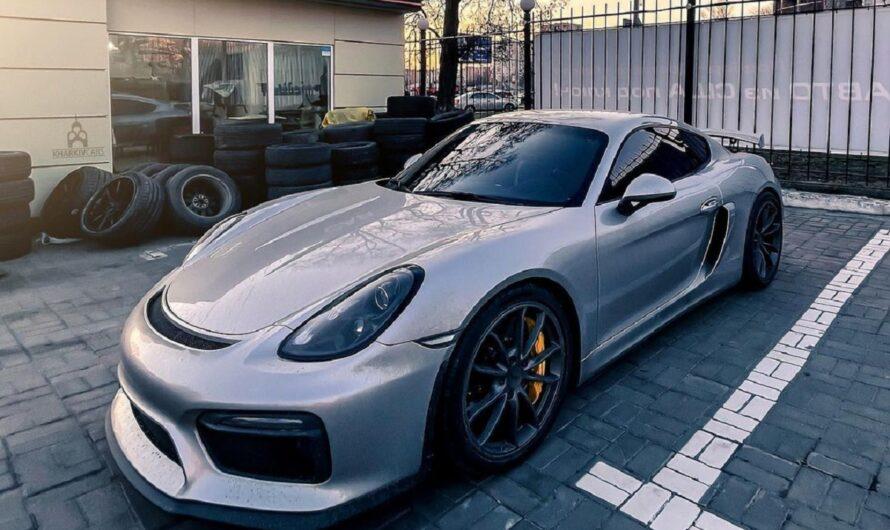 В Украине появился лимитированный заряженный спорткар Porsche