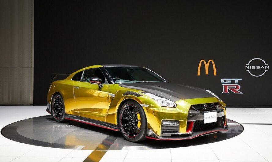 Эксклюзивный суперкар Nissan построили специально для McDonald's