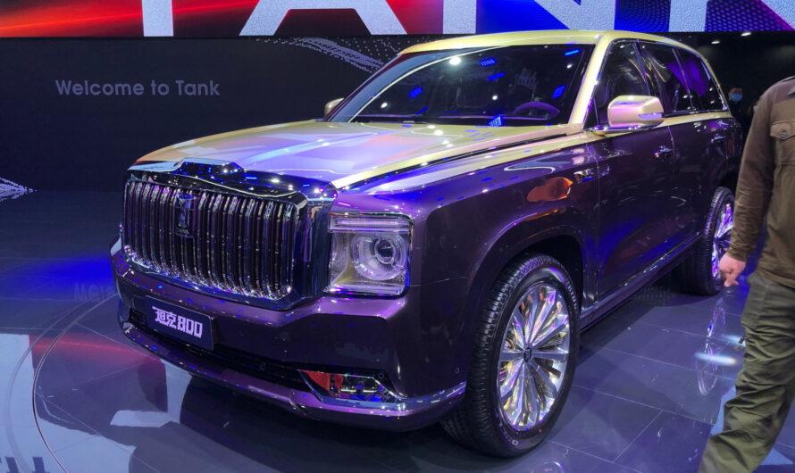 Китайцы показали Rolls-Royce Cullinan для бедных