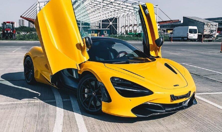 В Украине выставили на продажу эксклюзивный суперкар McLaren