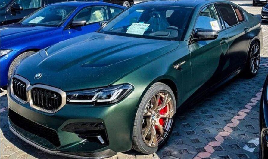 В Украину привезли самый мощный и самый быстрый BMW всех времен