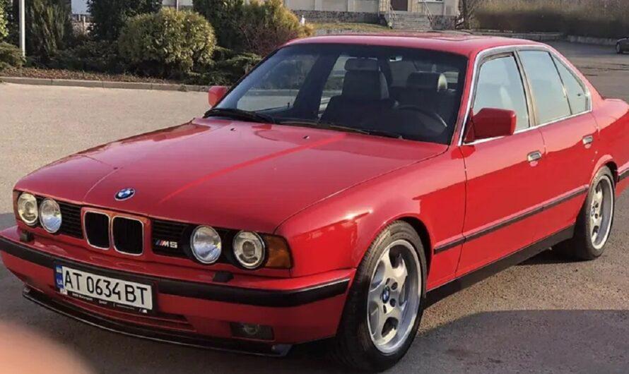 В Украине выставили на продажу культовый 30-летний седан BMW