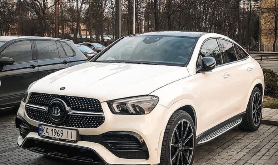 В Киеве появился очень редкий и очень нетипичный Mercedes Brabus