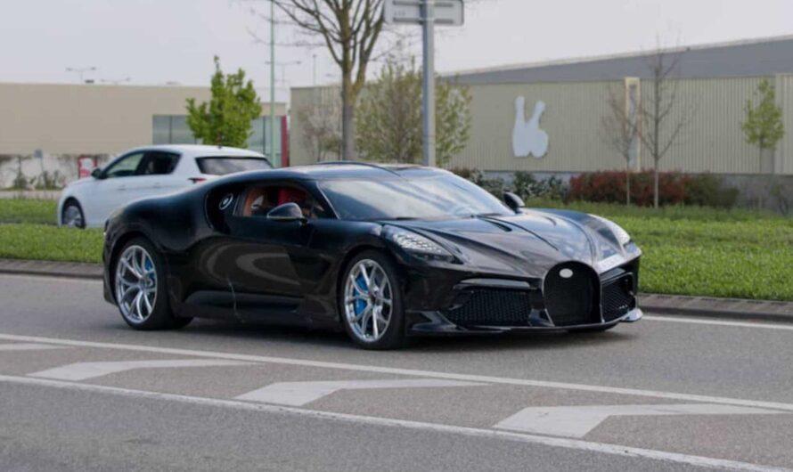 Самый дорогой авто в мире впервые засняли на дорогах