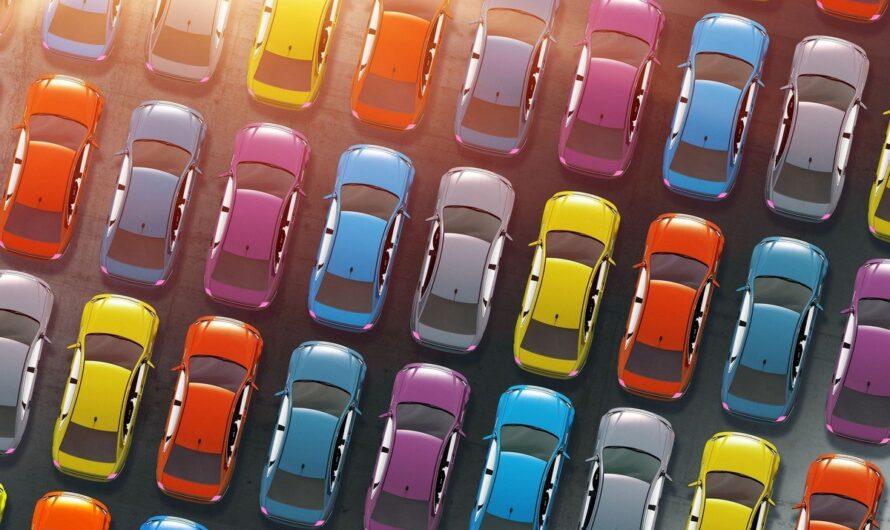 Самые популярные цвета авто в Украине за 2021 год