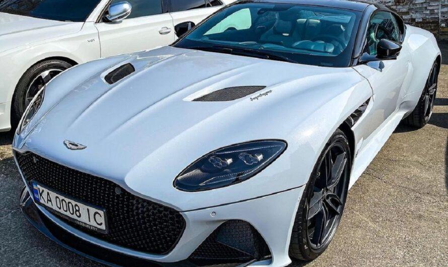 В Украине заметили сверхмощный суперкар Aston Martin за 10 миллионов