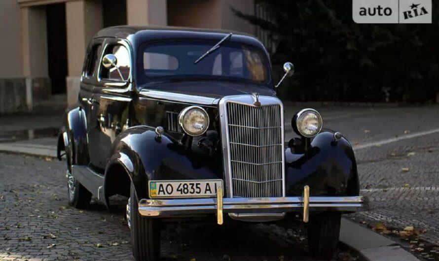 В Украине продается легендарный американский авто 30-х