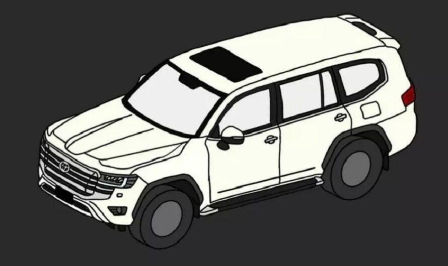 Новый Toyota Land Cruiser 300 рассекречен на первых изображениях