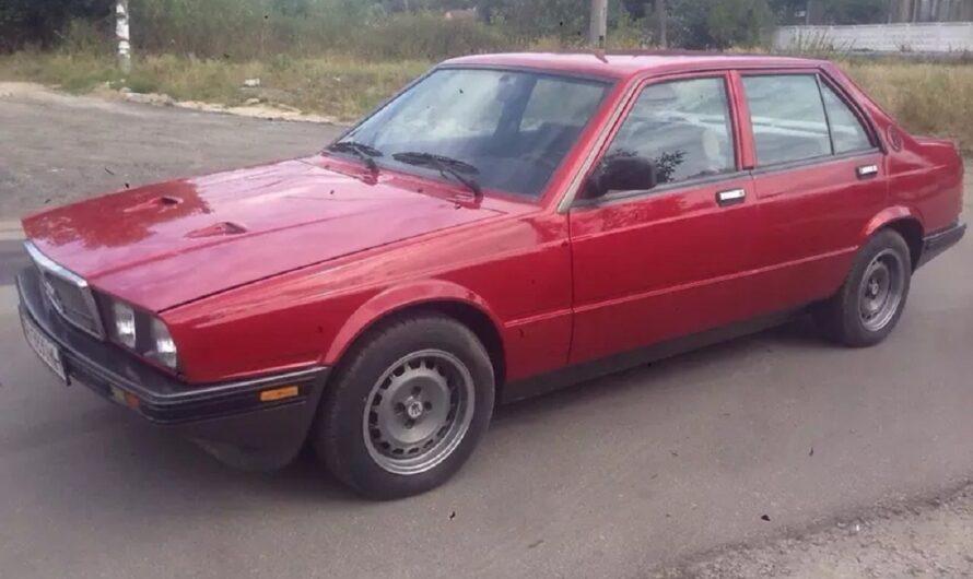 В Украине продают редчайший Maserati по цене б/у Ланоса