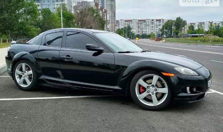 В Украине выставили на продажу спорткар Mazda с сюрпризом