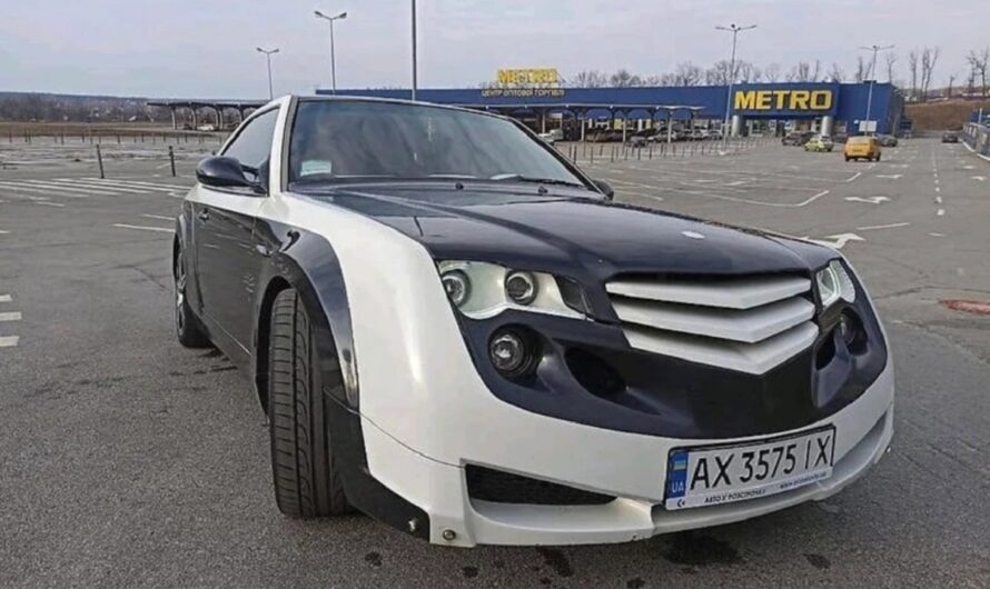 Тюнинг Mercedes W124 из Украины удивил американцев