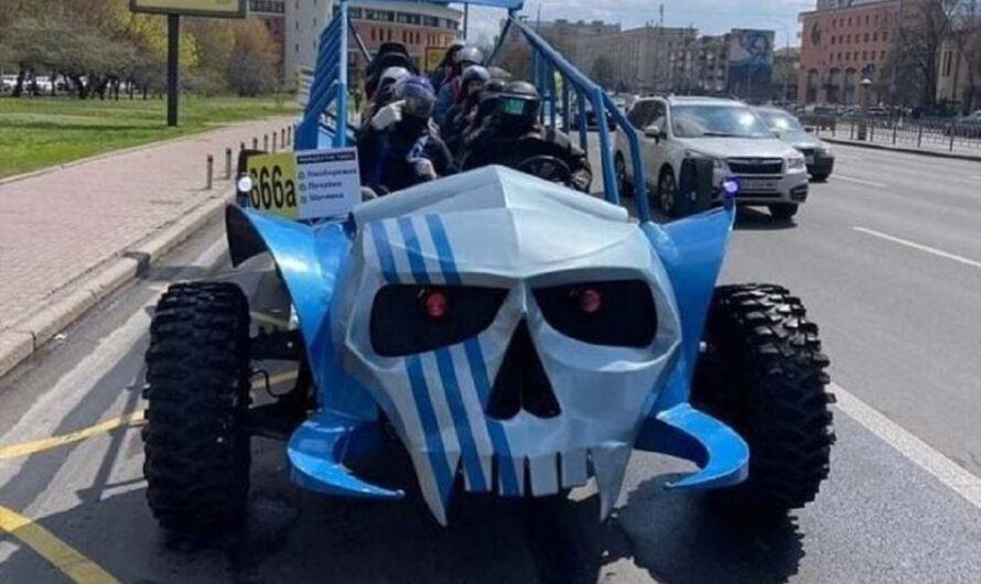 В Киеве появилась бесплатная «адская» маршрутка 666 (фото)