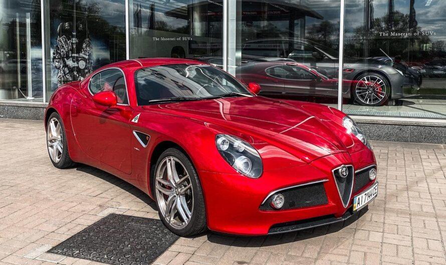 В Украине засветился очень редкий и очень эксклюзивный суперкар Alfa Romeo