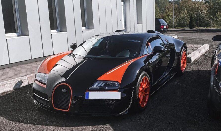 Bugatti Veyron в Украине вызвал ажиотаж в соцсетях (фото)