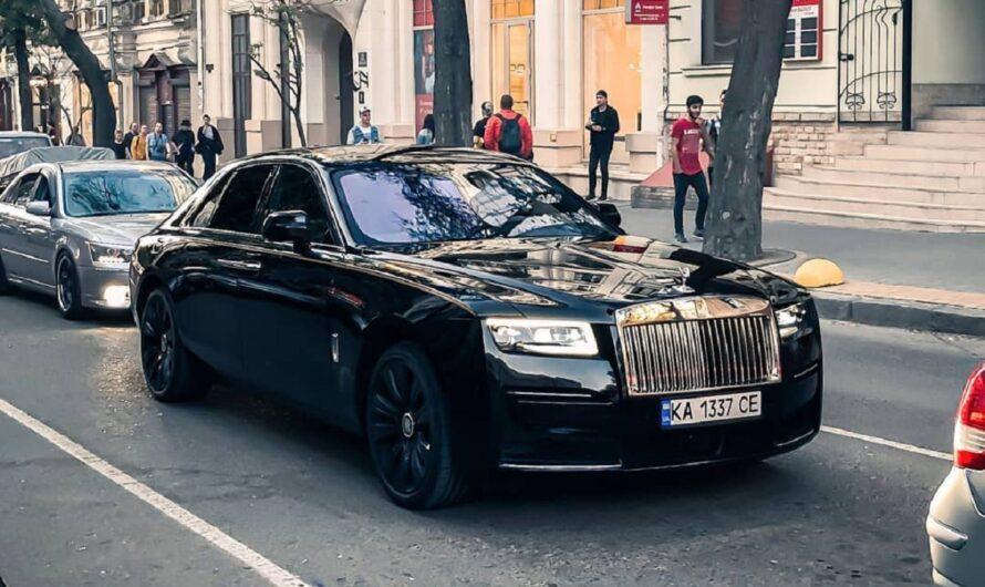 В Украине заметили новейший Rolls-Royce за 11 миллионов