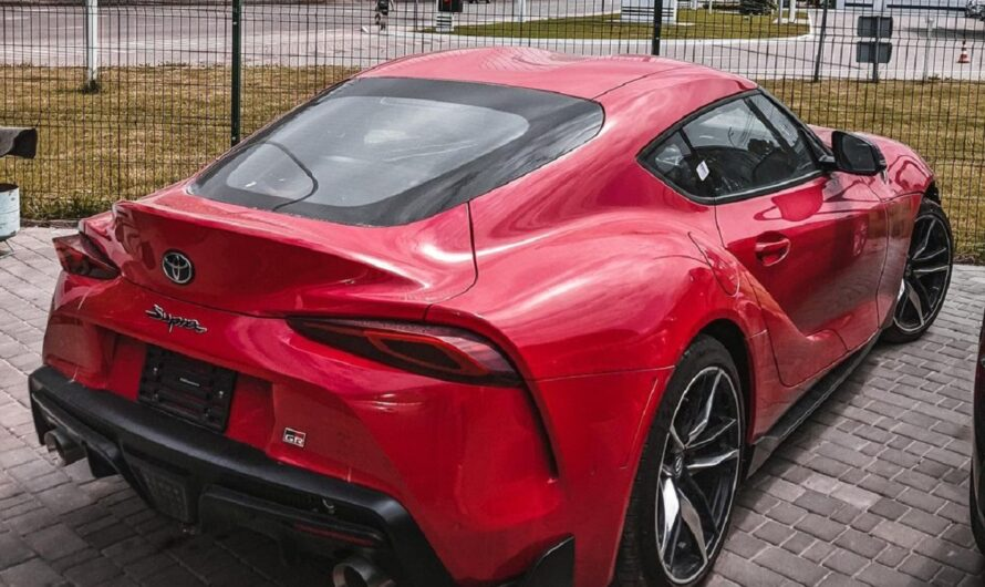 В Украине засветилась новейшая Toyota Supra
