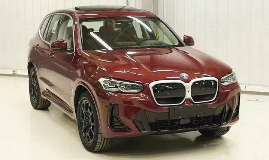 Новый BMW X3 2021 показался на первых фото
