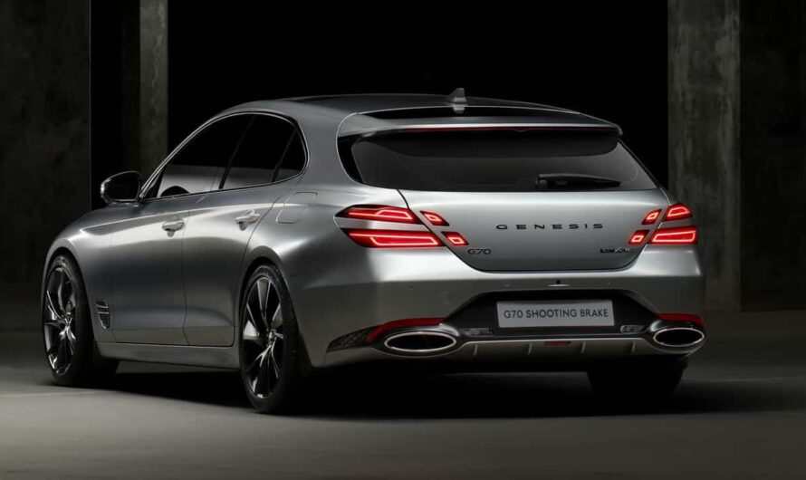 Hyundai презентовал конкурента Porsche Panamera Sport Turismo (фото)