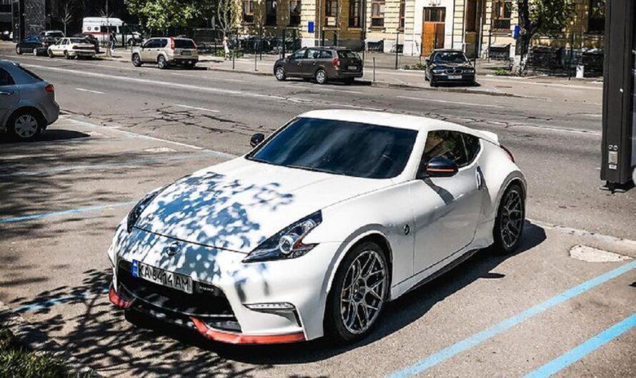 В Украине заметили редкий японский спорткар с заводским тюнингом
