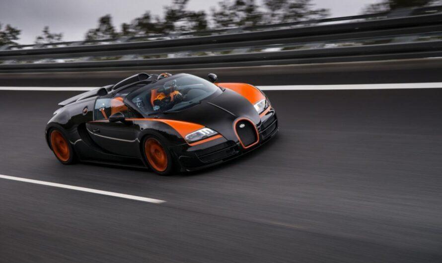 Самые интересные факты про гиперкар Bugatti Veyron