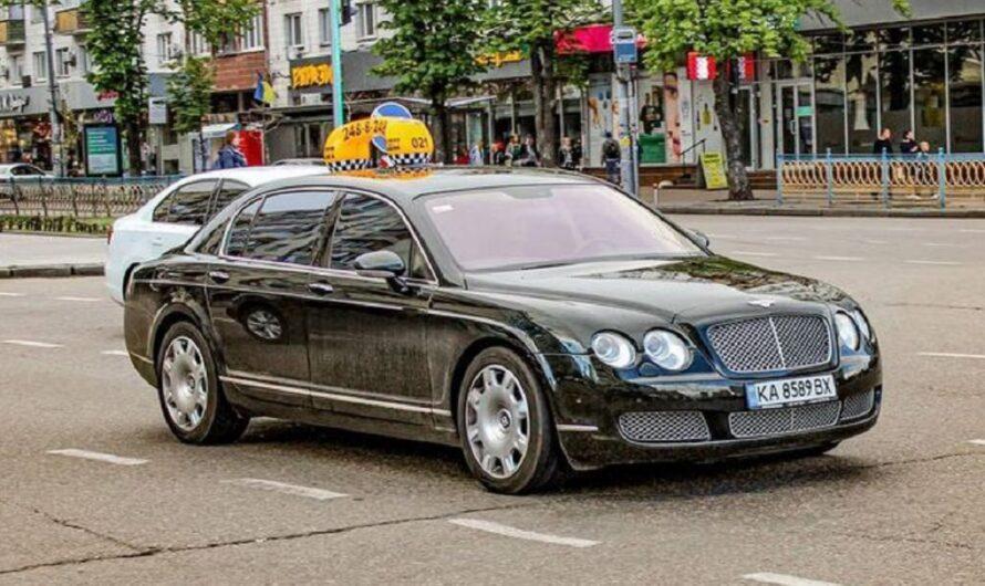 В Украине растет количество элитных авто в службах такси