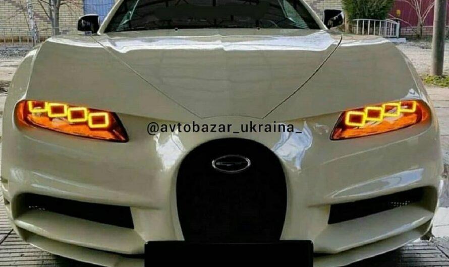 Bugatti Chiron в Украине поразил иностранцев (фото)