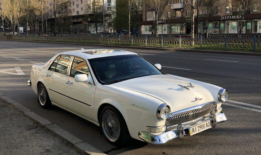 Украинцы скрестили Cadillac и Волгу ГАЗ-21