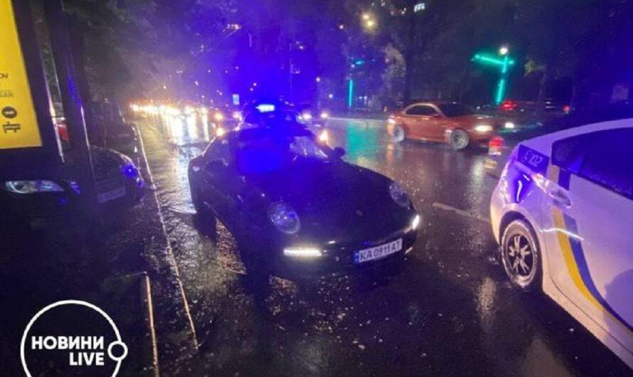 В интернете обсуждают задержание пьяного футболиста на Porsche в Киеве