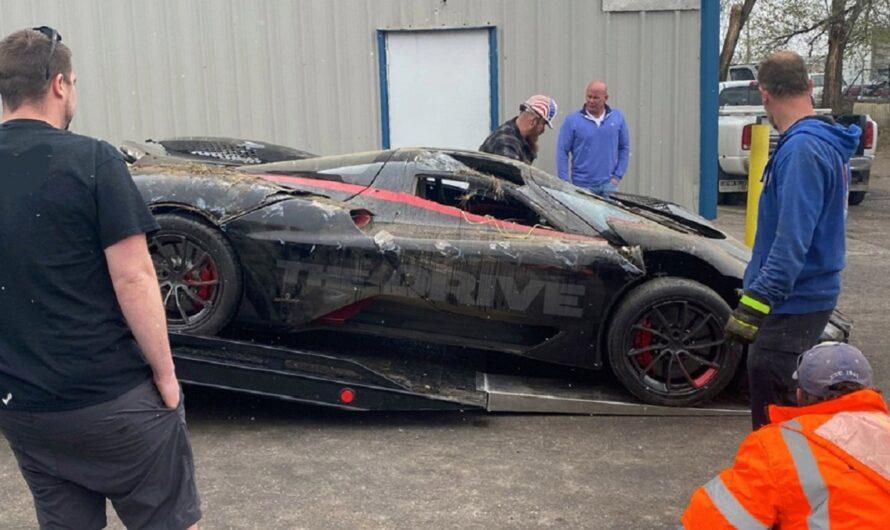 Самый быстрый авто в мире разбили в нелепом ДТП