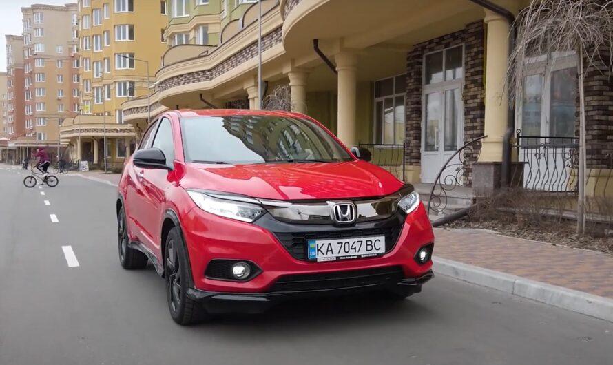 Тест Honda HR-V Sport: умеренный спорт или бодрый фитнес? (видео)
