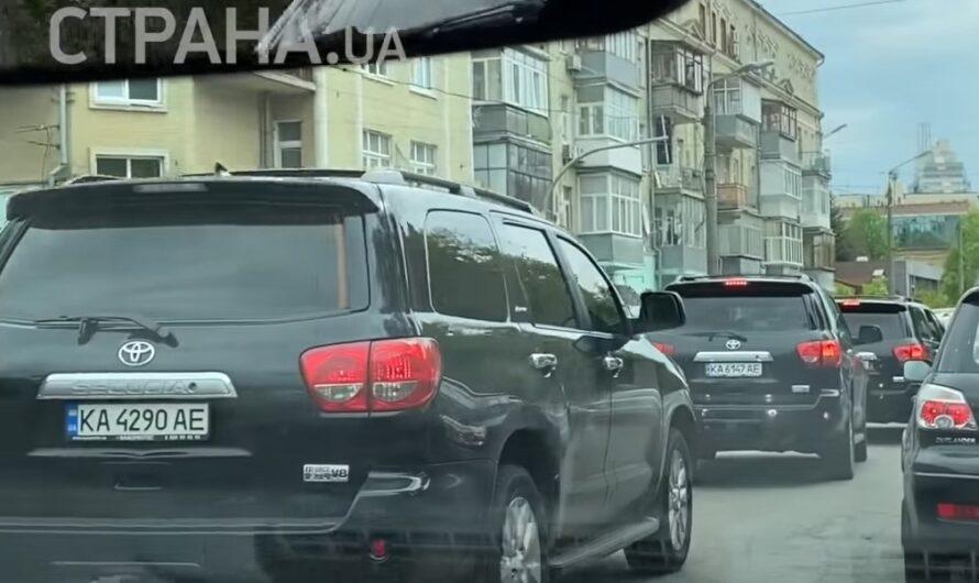 Кортеж мэра Киева Виталия Кличко стал еще внушительней (видео)