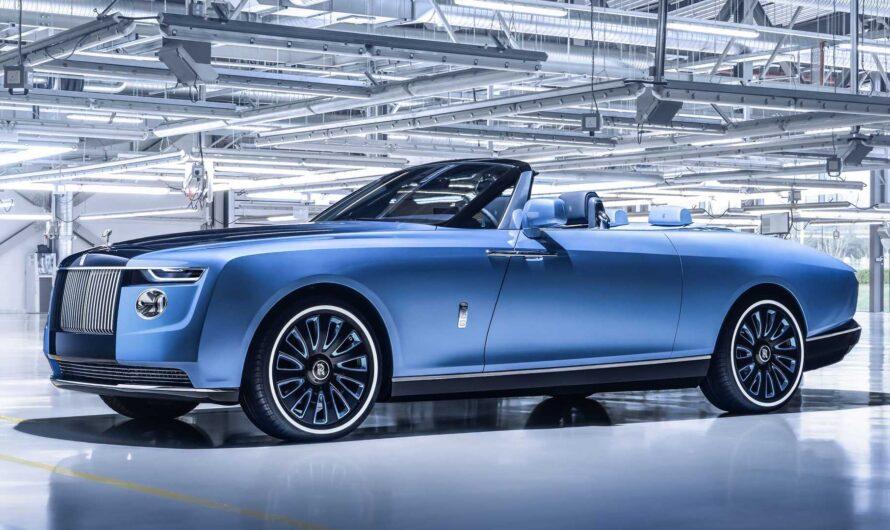 Rolls-Royce представил эксклюзивный кабриолет для олигархов и шейхов