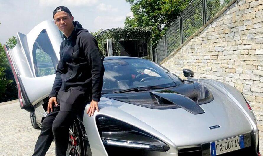 Видео с авто Криштиану Роналду вызвало резонанс в соцсетях