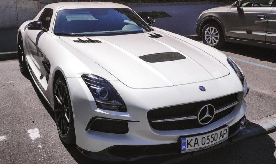 В Украине появился редчайший заряженный суперкар Mercedes