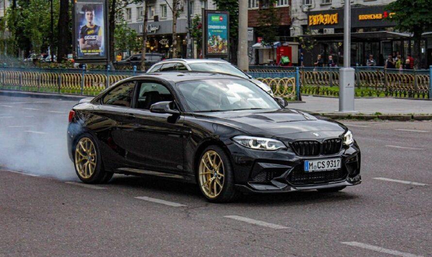 В Украине появился редчайший заряженный спорткар BMW