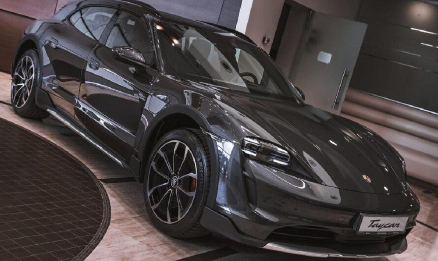 В Украину привезли первый электрокроссовер Porsche