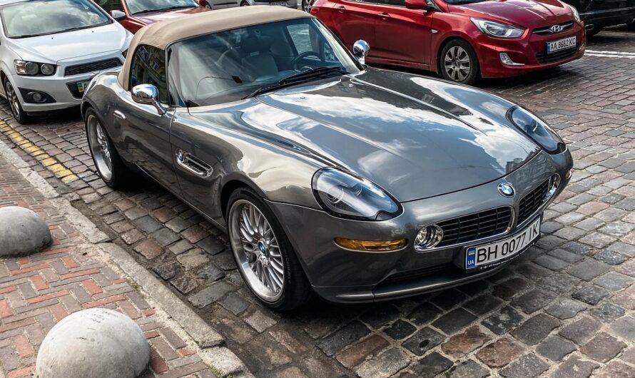 В Киеве засняли редчайший спорткар BMW как у Джеймса Бонда
