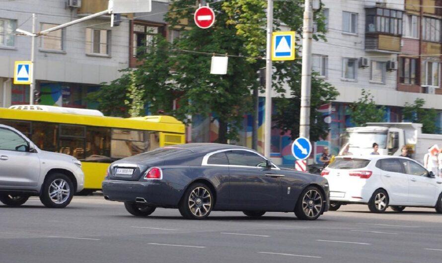 В Украине появился уникальный зашифрованный Rolls-Royce
