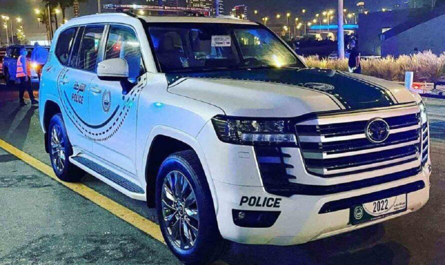 Новейший Toyota Land Cruiser 300 поступил на службу в полицию