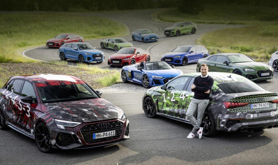 Новый Audi RS3 показался на первых фото и видео