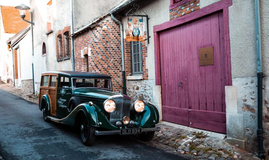 Продавец шампанского доставляет его на уникальном Bentley 1937 года (фото)