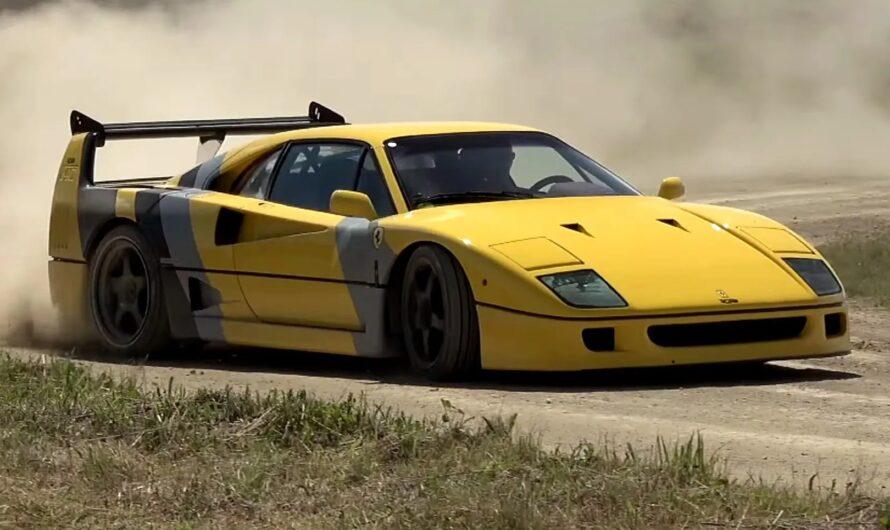 Самый легендарный суперкар Ferrari проверили бездорожьем (видео)