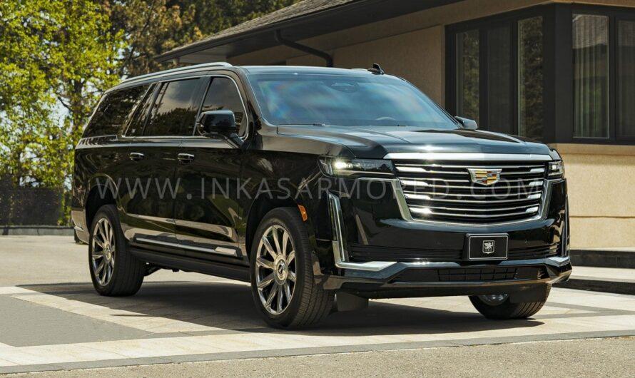 Представлен очень крутой и дорогой Cadillac для депутатов и олигархов