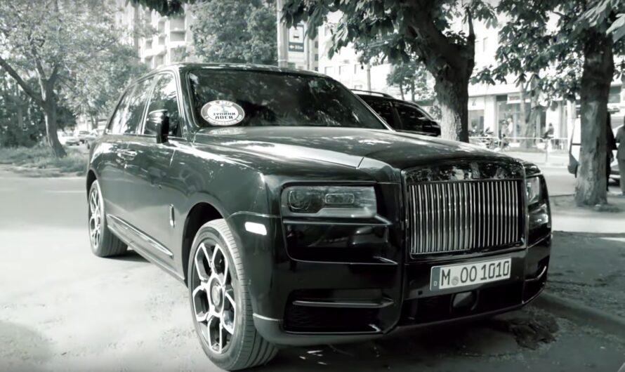 В Украине проучили героя парковки на эксклюзивном Rolls-Royce (видео)