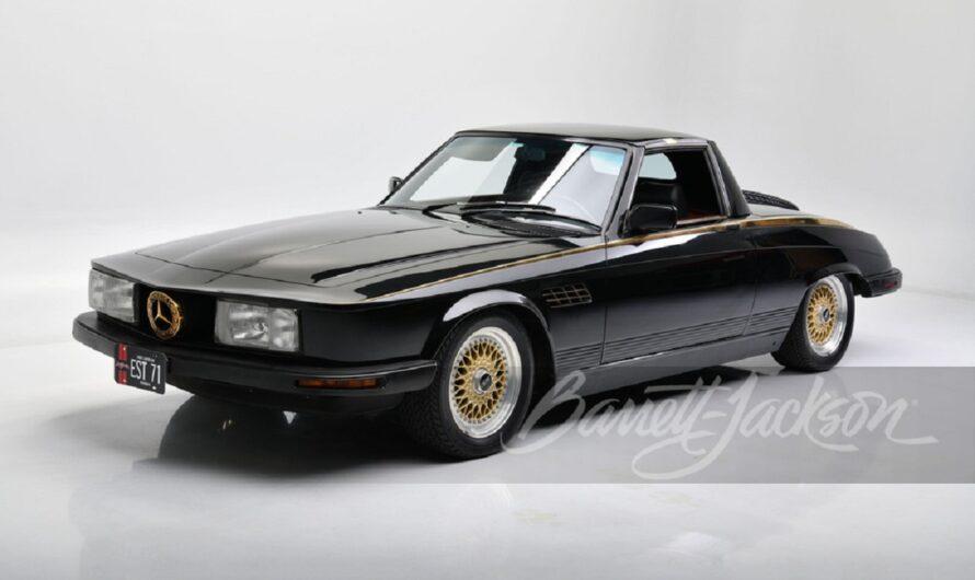 Самый странный Mercedes в истории выставили на аукцион
