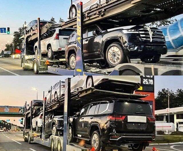Новые Toyota Land Cruiser 300 начали завозить в Украину