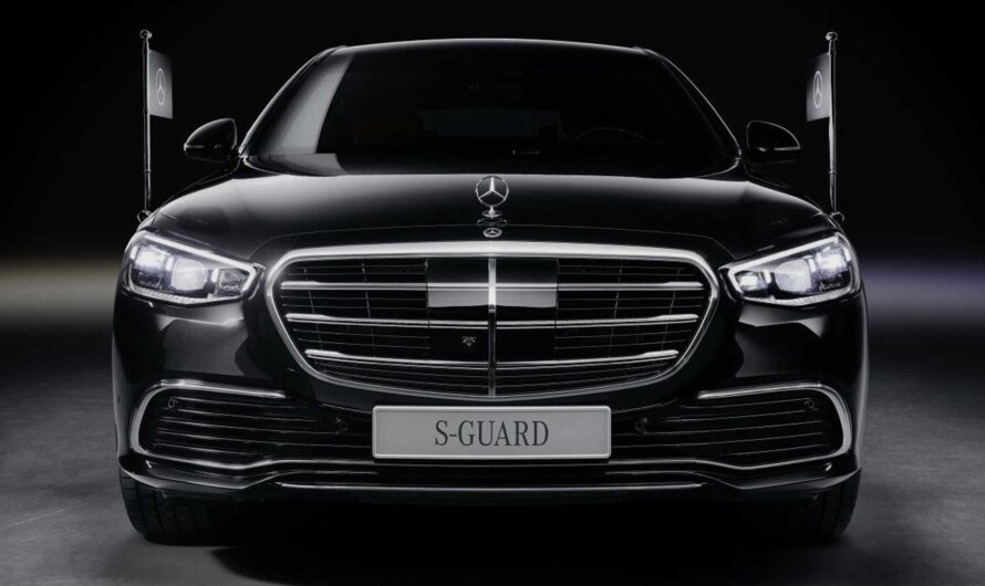 Представлен самый крутой Mercedes S-Class для олигархов и президентов